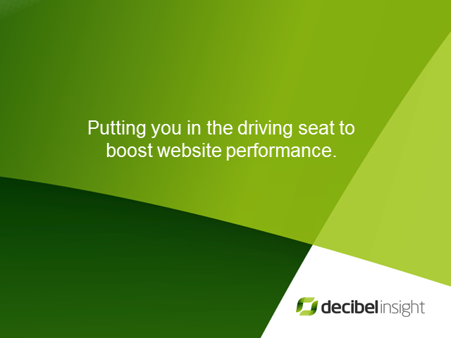 Putting you in the driving seat: How to boost website performance