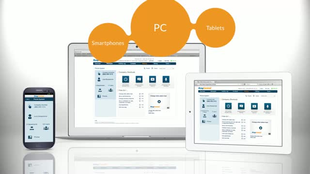 Ease of Management - RingCentral Business Phone System