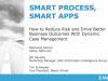 Smart Process, Smart Apps: How to Reduce Risk and Drive Better Business Outcomes