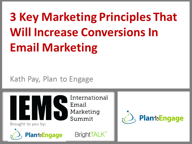 3 Key Marketing Principles That Will Increase Conversions In Email Marketing