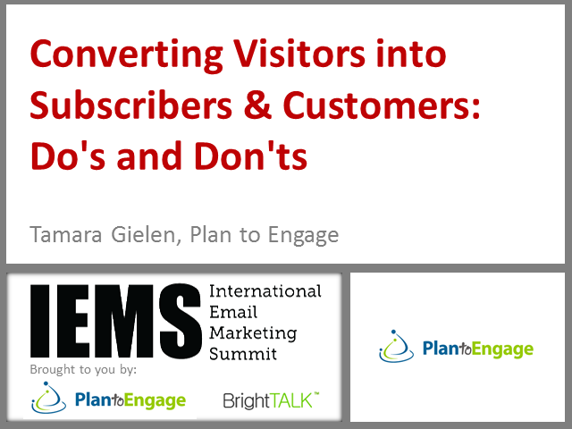 How to Convert a Maximum Number of Site Visitors into Subscribers & Customers