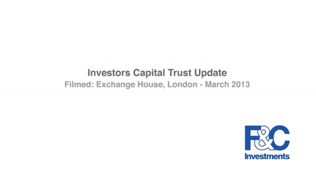Investors Capital Trust Market Update