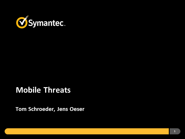 Mobile Threats (Internet Security Threat Report)