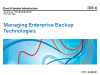 How to Successfully Manage Enterprise Backup Technologies Today
