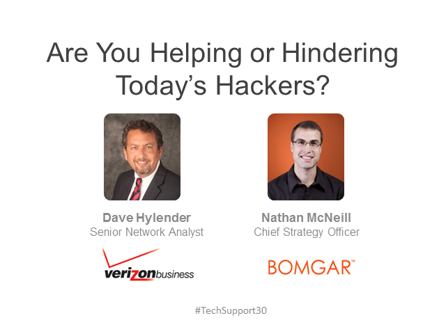 Is Your Service Desk Helping or Hindering Today's Hackers?