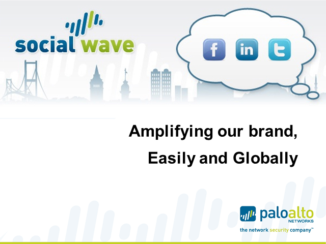 Case Study: Palo Alto Networks social channel communications and results
