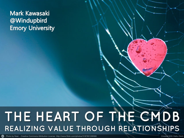 The Heart of the CMDB: Realizing Value through Relationships