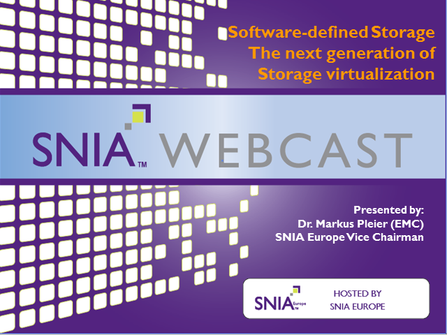 Software-Defined Storage: The Next Generation of Storage Virtualization