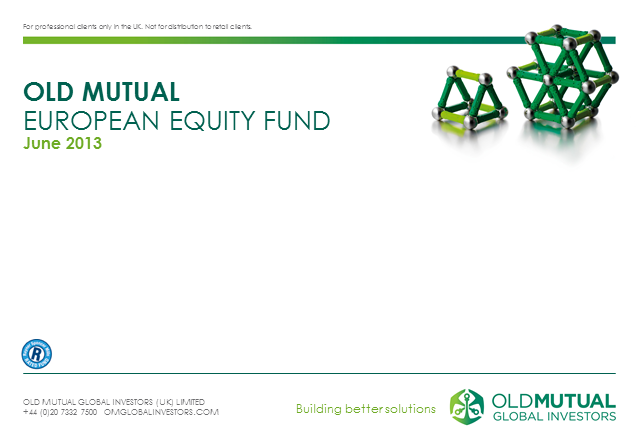 Old Mutual European Equity Fund