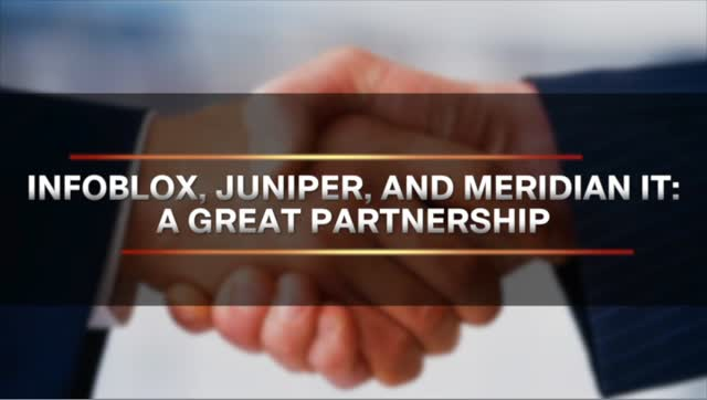 Meridian IT Delivers Juniper and InfoBlox Access Control Solutions