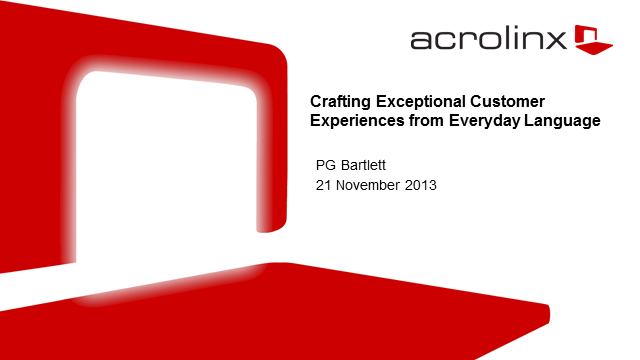 Crafting Exceptional Customer Experiences From Everyday Language