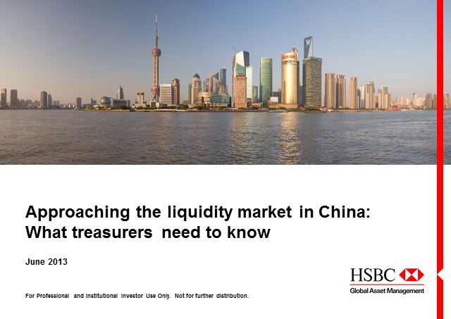 Approaching the liquidity market in China: What treasurers need to know