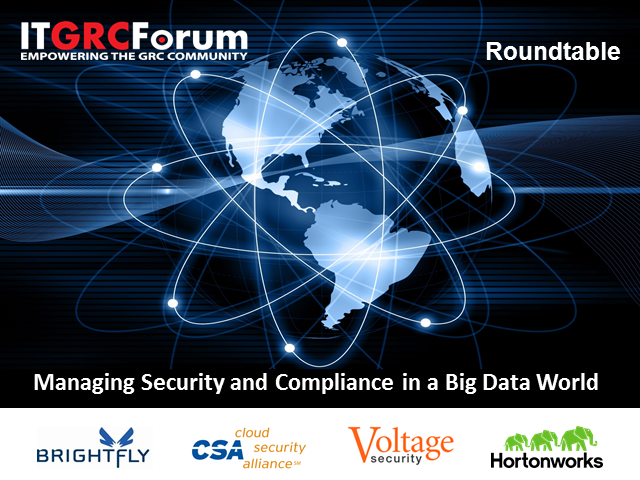 Managing Security and Compliance in a Big Data World