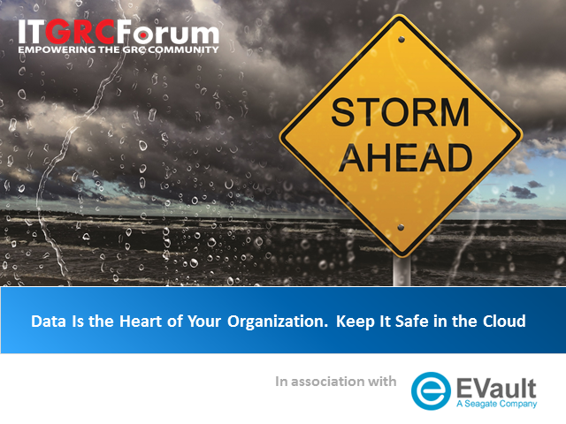 Data Is the Heart of Your Organization. Keep It Safe in the Cloud
