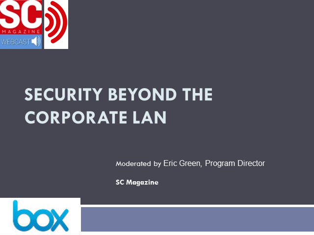 Security Beyond the Corporate LAN