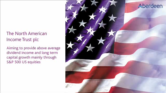 North American Income: Aiming to provide above average dividend income...