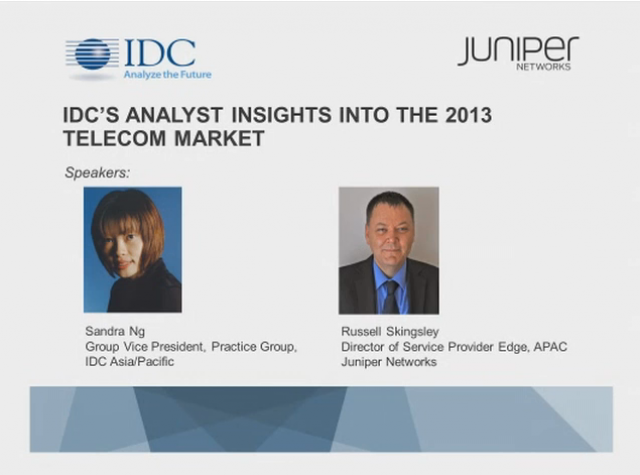 IDC Telecom 2013 Top 10 Predictions