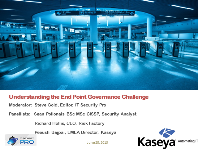 Understanding the End Point Governance Challenge