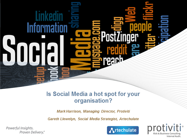 Is social media risk a hot spot for your organisation?