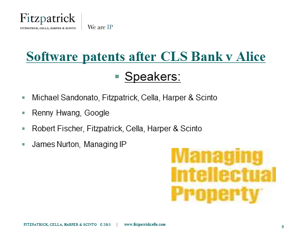 Software patents after CLS Bank v Alice