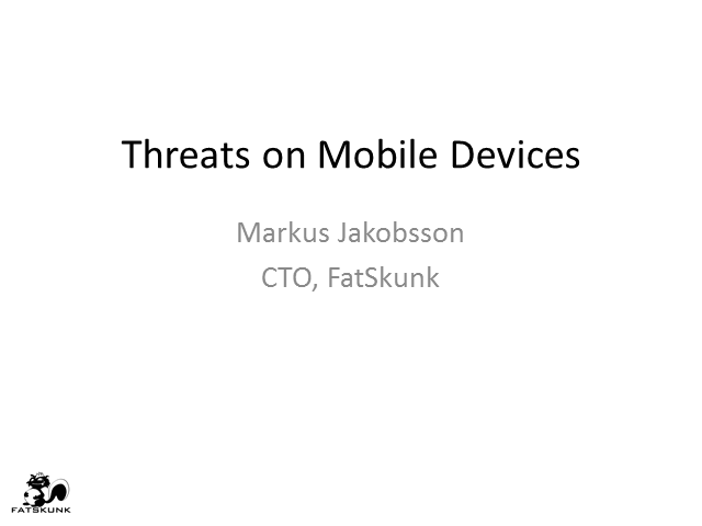 The Mobile Malware Threat To Your Network