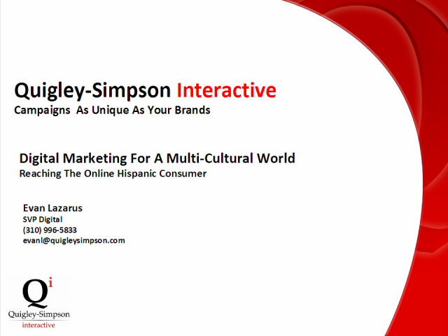 Digital Marketing for a Multi-Cultural World