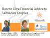 How to Give Financial Advice to Same Sex Couples