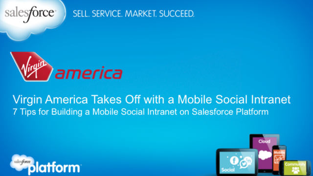 Virgin America Takes Off with a Mobile Social Intranet