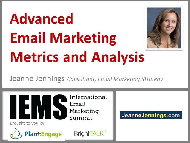 Advanced Email Marketing Metrics and Analysis