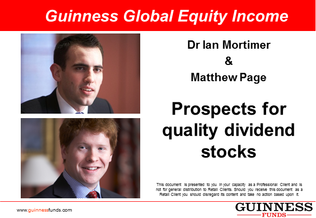 Guinness Global Equity Income - Prospects for quality dividend stocks