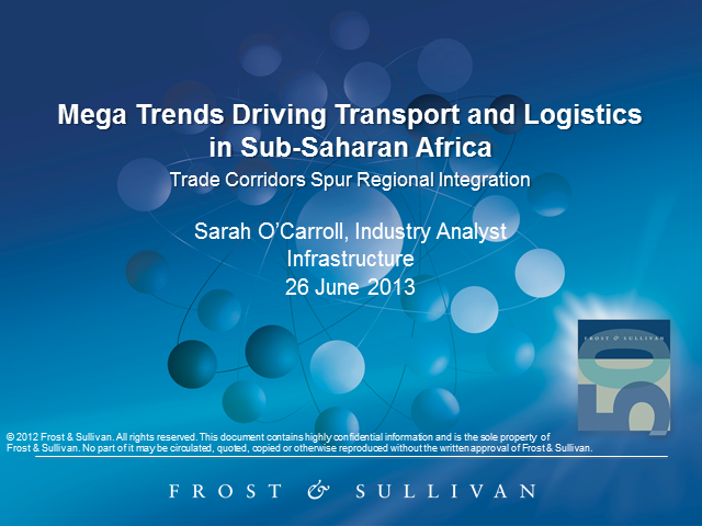 Mega Trends Driving the Transport and Logistics Industry