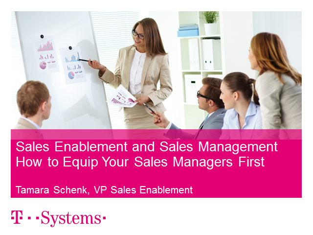 Sales Enablement – How To Equip Your Sales Managers First