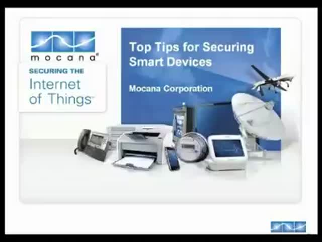 Top Tips for Securing Smart Devices Webinar