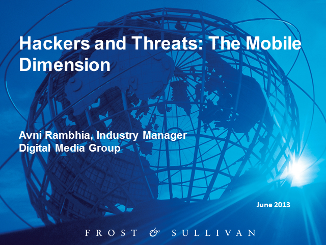 Hackers and Threats: The Mobile Dimension