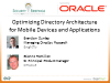 Optimizing Directory Architecture for Mobile Devices and Applications
