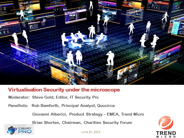 Virtualisation Security under the microscope