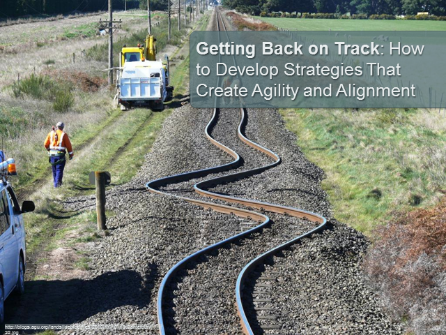 Getting Back on Track: How Strategy Creates Agility and Alignment