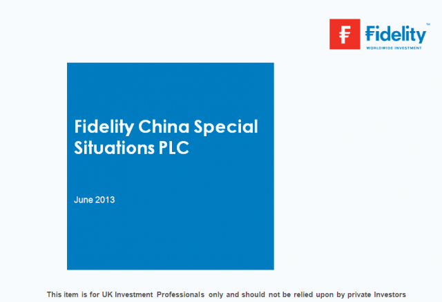 Fidelity China Special Situations