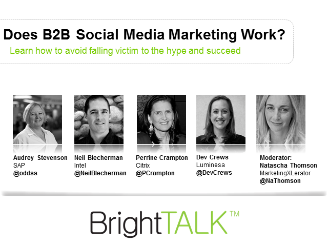 Roundtable: Does B2B Social Media Marketing Work?
