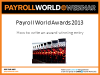 How to write an award winning entry for the Payroll World Awards