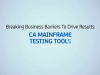 CA Mainframe Testing Tools