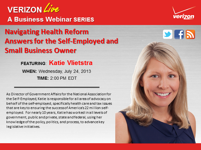Navigating Health Reform: Answers for the Self-Employed and Small Business Owner
