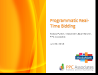 Real-Time Bidding Fundamentals