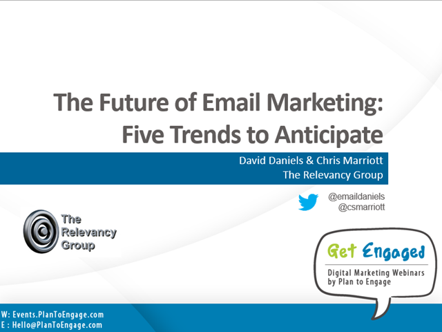 The Future of Email Marketing: Five Trends to Anticipate