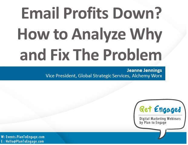 Email Profits Down? How to Analyze Why and Fix The Problem