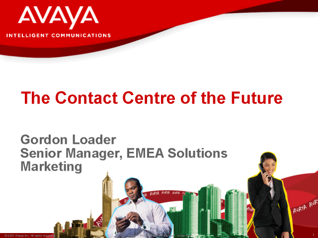 Contact Centre of the Future