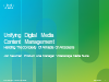 Unifying Digital Media Content Management – Handling the Complexity Of All Media
