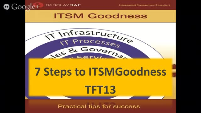 7 Steps to ITSM Goodness
