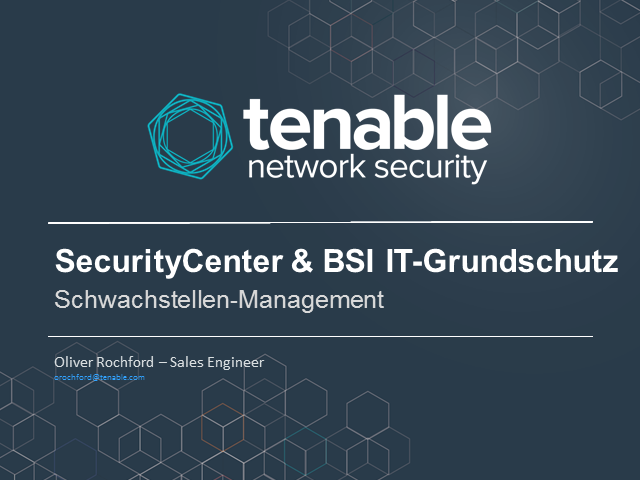 Vulnerability Management nach BSI IT-Grundschutz