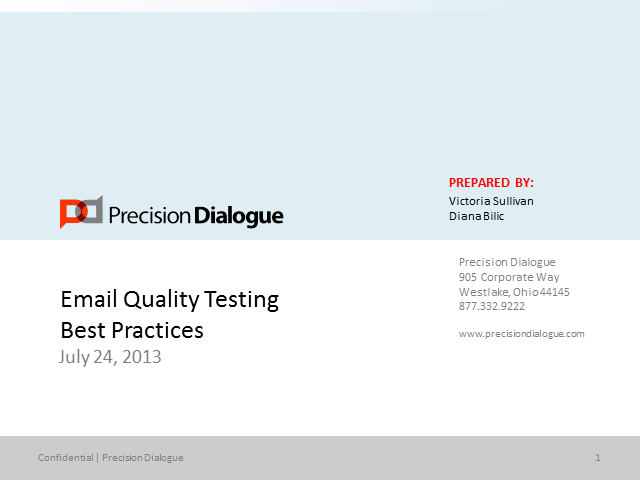 Email Quality Testing Best Practices